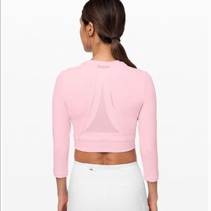 Lululemon Short Stop Long Sleeves